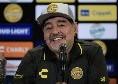 """Maradona e il benvenuto a De Rossi: """"La maglia del Boca è come il sangue di San Gennaro"""" [AUDIO]"""