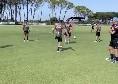SSC Napoli, il report degli allenamenti: sfide 1 vs 1 e partitella. Differenziato per Milik