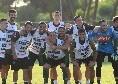 """Termina l'allenamento, la SSC Napoli: """"Che partita!"""" [FOTO]"""