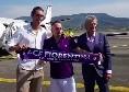 """Ribery arriva a Firenze: """"Sono molto felice di essere arrivato qui, la città mi piace molto. Ho già parlato con alcuni dei calciatori della rosa"""" [VIDEO]"""