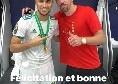 """Ounas accoglie Ribery in Serie A: """"Buona fortuna fratello"""" [FOTO]"""