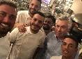 Ancelotti si gode la pizza napoletana: serata da 10 Diego Vitagliano [FOTO]