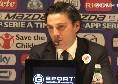 """Fiorentina, Montella: """"Il Napoli può lottare per lo scudetto: ha aggiunto Manolas e Lozano e forse un'altra punta. Chiesa prima punta? Guardate Mertens..."""""""""""