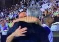 Carlo Ancelotti ritrova Franck Ribery: i due si salutano calorosamente prima del fischio d'inizio [FOTO]