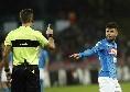 """Ennesimo fischio dell'arbitro Massa, Insigne protesta: """"Stai esagerando!"""""""
