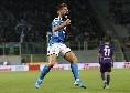 Il Napoli soffre ma torna negli spogliatoi in vantaggio: viola più pericolosi, più possesso palla per gli azzurri [STATISTICHE]