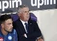 Doppio cambio per Ancelotti al 71': fuori Mario Rui ed Allan, dentro Ghoulam ed Elmas