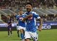 Opta - Per la prima volta in carriera Insigne ha partecipato a quattro gol in una sola gara