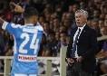 """Ancelotti a Sky: """"Ho consigliato ai tifosi della Fiorentina di andare a casa, tanti ignoranti dietro la mia panchina. Ci giochiamo lo scudetto con la Juve di Sarri, gli mando un saluto"""""""