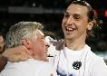 """Ancelotti scherza su Ibrahimovic: """"Certo che lo prenderei! Se viene con lo sconto lo prendiamo..."""" [VIDEO]"""