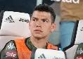 """Lozano: """"Serie A più veloce e tattica dell'Eredivisie: a Napoli mi aspetta un futuro brillante"""""""