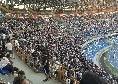 Napoli-Samp, il gol di Mertens ripreso dalla Curva durante i cori: boato e brividi [VIDEO]