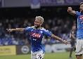 La moviola di Gazzetta: sul 2-0 di Mertens segnalato un fuorigioco inspiegabile, La Penna si affida giustamente al Var