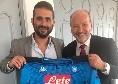 """La Ssc Napoli accoglie l'FC Liverpool: """"Sempre bello incontrare i nostri amici, quinta volta in quasi un anno"""""""