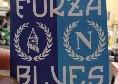 """Tifosi dell'Everton al San Paolo per sostenere il Napoli! Pronto un adesivo con la scritta """"Forza Blues"""" [FOTO]"""