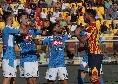 Dal rigore di Insigne alla prima doppietta in azzurro di Llorente: tutti gli scatti di Lecce-Napoli [FOTOGALLERY CN24]