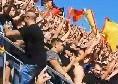 Tifosi del Lecce vergognosi: giornalisti napoletani insultati e colpiti da oggetti e sputi