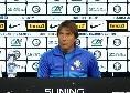 """Inter, Conte: """"In Champions non abbiamo esperienza, ma daremo tutto contro il Dortmund"""""""