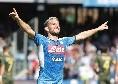 Sky - Mertens-Napoli, pace fatta! Il calciatore vuole restare in azzurro, si riapre il rinnovo