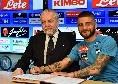 """De Laurentiis: """"Insigne? Non capisco perchè a Napoli non sia del tutto felice! Se ritiene che la sua avventura qui sia finita, si impegni per non restare incompreso"""""""