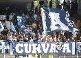 """""""Fuori le palle"""", la Curva A incita gli azzurri al grido """"Vittoria!"""""""