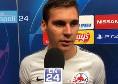 """Salisburgo, Wober a CN24: """"Siamo dispiaciuti, ora serve coraggio al San Paolo. Liverpool e Napoli allo stesso livello"""" [VIDEO]"""