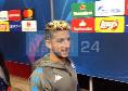 """""""Adesso dobbiamo chiamarti Diego Mertens?"""". Dries sorride e risponde: """"Eh speriamo"""" [VIDEO]"""
