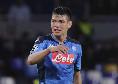 Gazzetta - Ancelotti ritiene Lozano tra gli esterni più forte al mondo: permetterà al club di cedere Insigne
