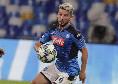 Milan-Napoli, Mertens sarà regolarmente in campo: in forte dubbio altri due azzurri