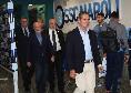 Sky - De Laurentiis a Milano per l'Assemblea Lega Serie A di domani, il patron si è anticipato di un giorno