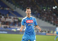 Napoli subito in vantaggio: disattenzione del giovane portiere Vandevoordt, facile segnare per Milik