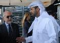 Il Roma - De Laurentiis non vuole vendere il Napoli, ha risposto alle voci con una grande risata: ad Al-Thani non interessa l'Italia