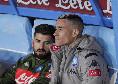 Sky - Udinese-Napoli, Callejon e Mertens out: terza assenza per l'esterno spagnolo