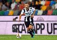 Ultime da Udine - Si allenano a parte Jajalo e Sema, entrambi in dubbio contro il Napoli