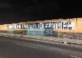 """La Curva B attacca la SSC Napoli: """"Rischi di essere multato per ripararti dalla pioggia e per voler stare vicino tuo figlio, diserta!"""" [FOTO CN24]"""