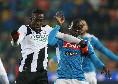 """Il commento della SSC Napoli: """"La pressione azzurra è generosa e anche di impeto sostenuto, con segnali di carattere, ma le occasioni non si tramutano nel gol del sorpasso"""""""