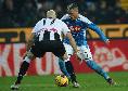 Udinese-Napoli, CorSport su Callejon: è l'ombra di ciò che è stato