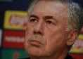 """Ancelotti: """"Valigia sempre pronta, giusto essere in discussione! Ottimista per domani, non voglio che la squadra giochi per me. Ieri ho sentito Ibrahimovic"""" [VIDEO CN24]"""