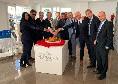 Pranzo Uefa Napoli-Genk, foto di rito tra dirigenti e scambio di regali tra club [FOTO CN24]