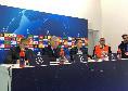 """Ancelotti in conferenza: """"Domani vedrò De Laurentiis, valuteremo le cose e prenderemo la giusta decisione per il Napoli. Salutati i tifosi? Ho salutato mia moglie"""" [VIDEO CN24]"""