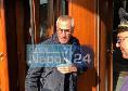 """Reja esce dall'hotel Vesuvio: """"Gattuso? No comment"""" [FOTO CN24]"""