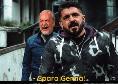 <i>SOCIAL...ISMO</i> - Ancelotti sta al Napoli come Datuna alla banana di Cattelan! Gattuso come Genny Savastano e la dedica di Ungaretti a Davide Jr