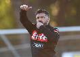 Il primo giorno di Gattuso da allenatore del Napoli: le immagini del torello e dell'allenamento [VIDEO]