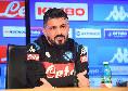 Napoli-Juventus, Gattuso in conferenza stampa sabato alle ore 12:15