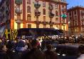 Il Parma arriva al San Paolo, fischi dai tifosi presenti all'esterno dello stadio [FOTO CN24]