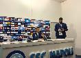 """Parma, D'Aversa in conferenza: """"Non abbiamo sfruttato le difficoltà iniziali del Napoli: gli abbiamo dato coraggio, male la gestione della palla"""""""