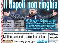 """Prima pagina il Roma: """"Il Napoli non ringhia"""" [FOTO]"""