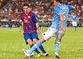 Messi al San Paolo per la prima volta! Napoli-Barcellona agli ottavi, la Pulce nel tempio di Maradona