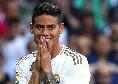 Calciomercato, Carlo Ancelotti non molla James Rodriguez: l'Everton prepara un'offerta da 30 milioni di euro