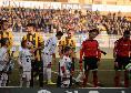 Juve Stabia-Entella 1-1, finisce in parità al sfida al Menti